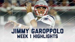 Jimmy Garoppolo Highlights | Patriots vs. Cardinals | NFL Week 1 Player Highlights