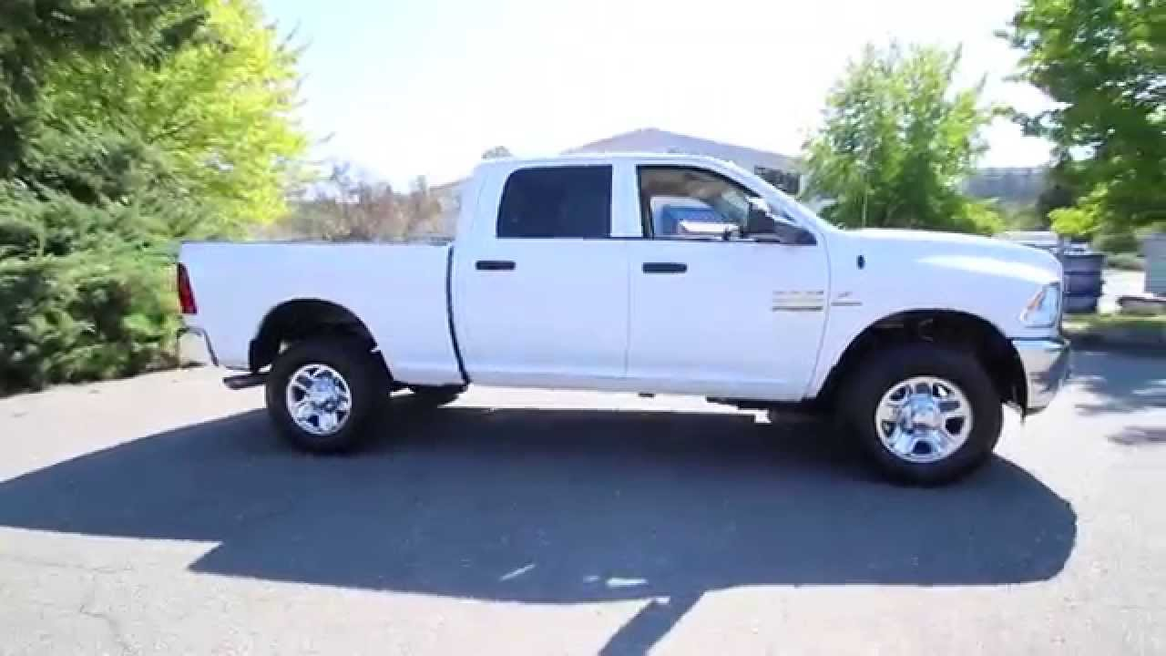 2016 dodge ram 2500 tradesman white gg119859 redmond seattle youtube. Black Bedroom Furniture Sets. Home Design Ideas