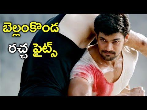 Jaya Janaki Nayaka Movie - Back To Back Fights - Bellamkonda Srinivas, Jagapathi Babu