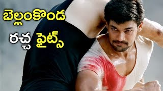 Jaya Janaki Nayaka Movie - Back To Back Fights - Bellamkonda Srinivas, Jagapathi Babu