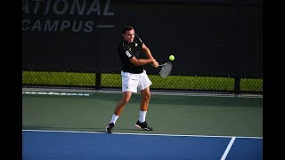 2019 Men's Tennis Championship - USF Quarterfinal Post Match