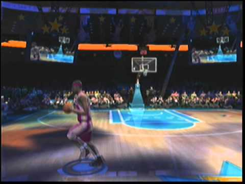 NBA Live 2005 Slam Dunk Contest Gameplay