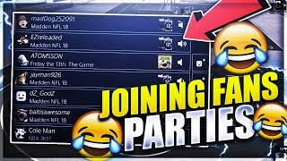 JOINING SUBSCRIBERS PARTIES AND TROLLING 😂 BOOTER TRIED TO FRY ME? FUNNY ONLINE SOCIAL EXPERIMENT😂
