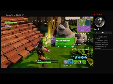 Fortnite LiveStream with Viktory Gaming Network
