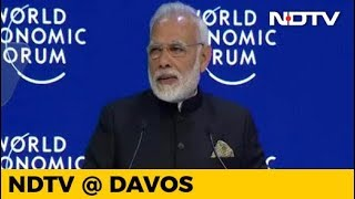 Watch: PM Modi Addresses World Leaders, CEOs At Davos