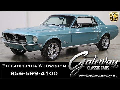 1968 Ford Mustang, Gateway Classic Cars - Philadelphia #522