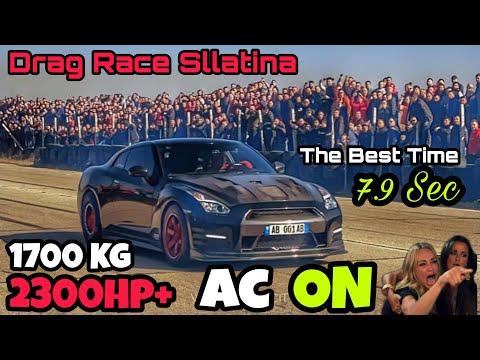 New Record 285.5 KM/H 402M Vis Kosova Nissan GTR 2300 Hp + VS Gogi Audi S2 1200 Hp + Sllatine Kosove