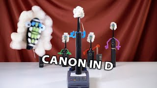 Pachelbel's Canon (Canon in D) on Electric Toothbrush Quartet