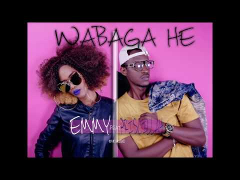 WABAGA HE  - EMMY ft PRISCILLAH (Official Lyric Video)