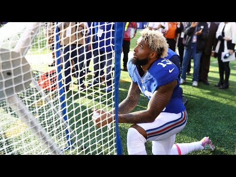 Odell Beckham Jr. Proposes To Kicking Net, Consummates Relationship