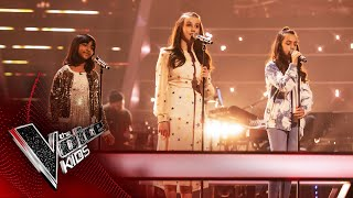 Download Lagu Lydia, Aadya and Rae Perform 'Somewhere Only We Know' | The Battles | The Voice Kids UK 2020 mp3