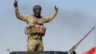 القوات العراقية تمسك بالمحاور الجنوبية للفلوجة بالكامل   29-5-2016