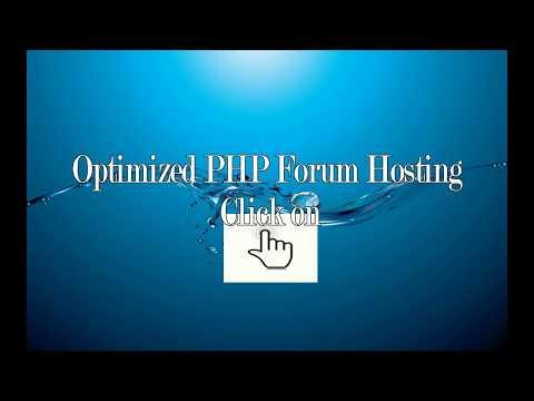 Forum Hosting At It's Best.