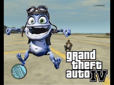 Gta IV Crazy Frog Car Funniest mod/trainer ever!?! + Download link!?!