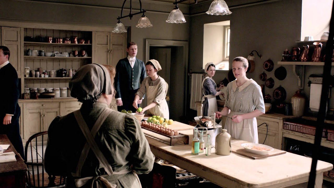 Find A Kitchen Designer Small Design Downton Abbey - Costumes And Sets Youtube