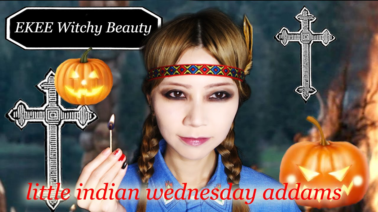 EKEE伊維特 - Witchy Beauty - Little Indian Wednesday Addams ...Wednesday Addams Indian