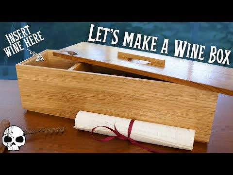 We Made A Wedding-style Wine Box!