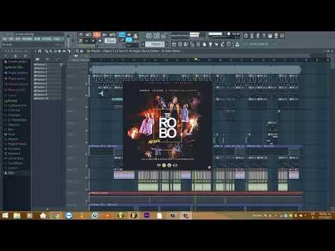 Te Robo Remix - Arcangel Ft De la Ghetto, Gigolo & La Exce [INSTRUMENTAL + FLP]