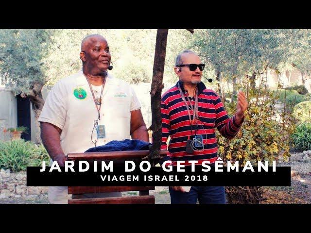 Jardim do Getsêmani - Viagem Profética ISRAEL 2018 - Ministério Intimo do Pai