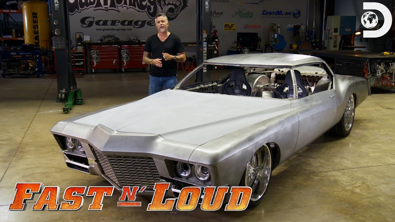 The 72 Buick Riviera For Sema Fast N Loud Youtube