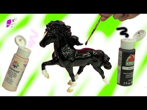 Acrylic Paint Do It Yourself DIY Painting Breyerfest 2017 Rare Horse - Custom Video