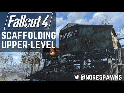 Fallout 4 - Sanctuary/Greentop House: Scaffolding Upper-Level