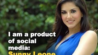 I am a product of social media: Sunny Leone - ANI News