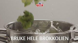 Hvordan bruke hele brokkolien