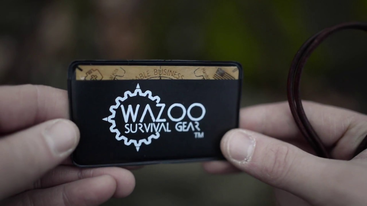 The Ultimate Fire Tinder Micro and the Wazoo Burnable Business Card ...