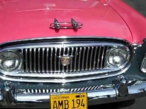1956 Nash Ambassador Special V8 Custom Sedan Test Drive