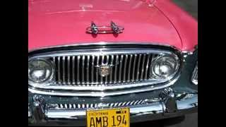 1956 Nash Ambassador Special V8 Custom Sedan Test Drive