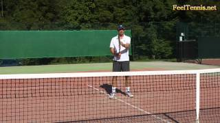 How To Hit A Tennis Volley - Tip For More Feel