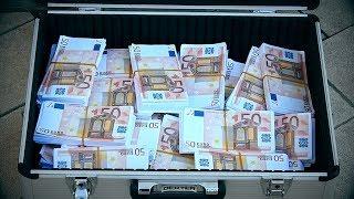 Maletín con 1.000.000€ (Broma con cámara oculta)