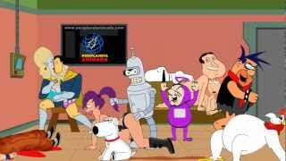 Harlem Shake Cartoon Edition +18