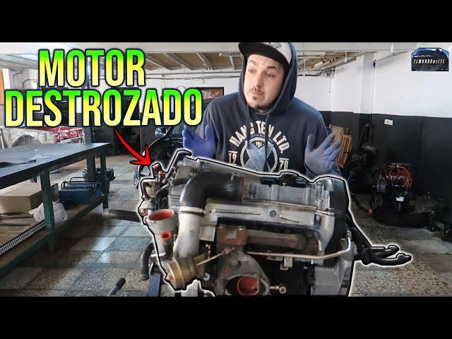El MOTOR del SWAP esta DESTROZADO...😢 Nos ENGAÑARON?😒 | SWAP VW GOLF GTI MK2 | ELMUNDOdeEFE