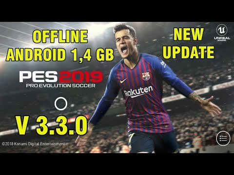 PES 2019 Mobile V3.3.0 Android Offline New Patch Transfers Update + New Kits Best Graphics