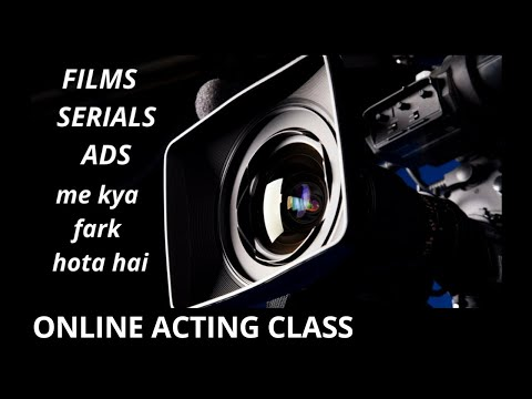 BOLLYWOOD &  ACTING - FILMS, SERIALS, ADS