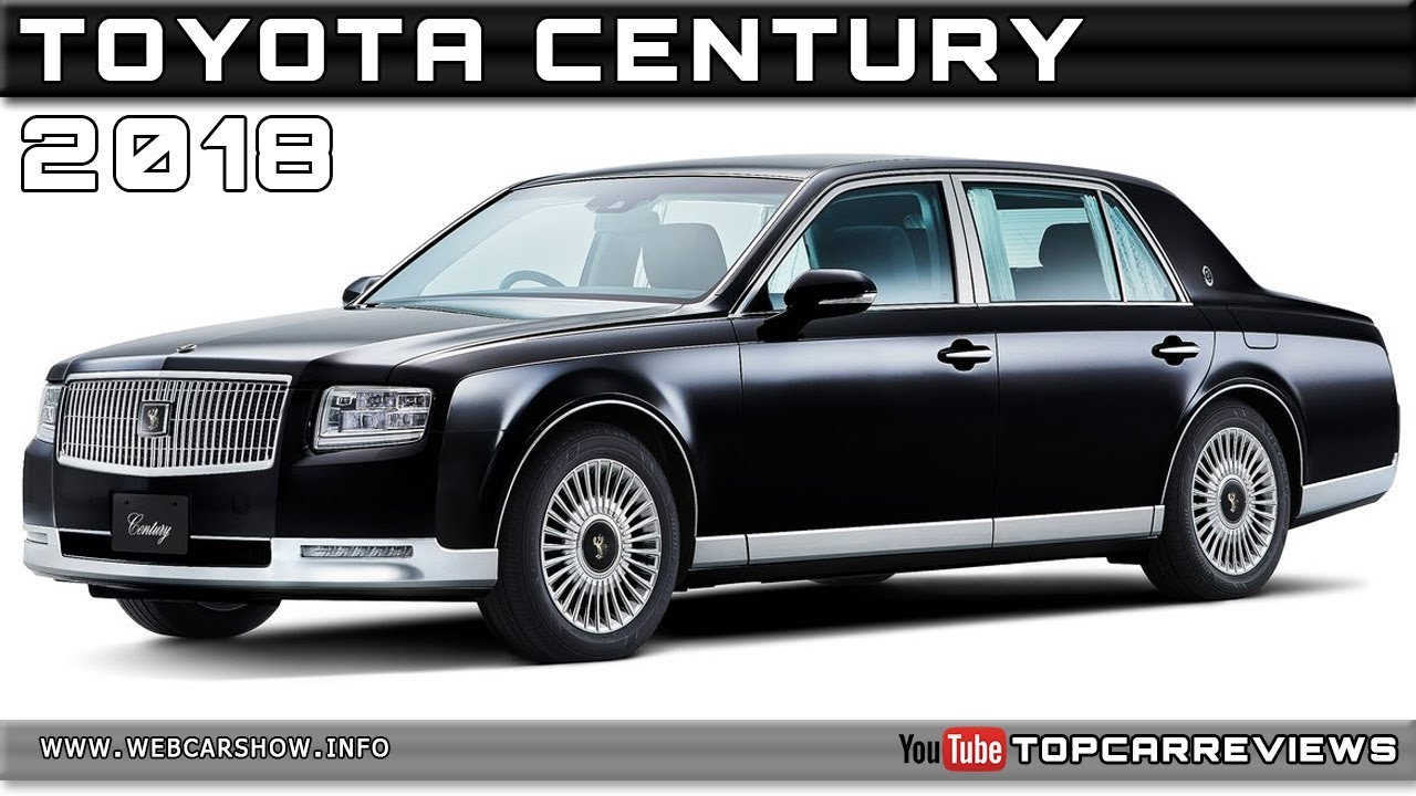 2018 Toyota Century Review Rendered Price Specs Release Date