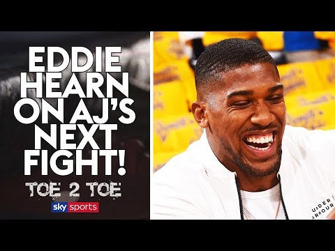 EXCLUSIVE: Eddie Hearn on Anthony Joshua's NEXT opponent! 😲