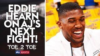 EXCLUSIVE: Eddie Hearn on Anthony Joshua's NEXT opponent! 😲