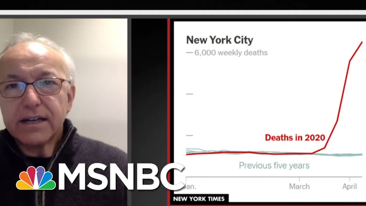 Evidence Suggests Coronavirus Death Toll Much Higher Than Official Count | All In | MSNBC