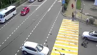 Аварии на дорогах, приколы на дорогах 2018 22