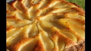 How To Make Pear And Frangipane Tart