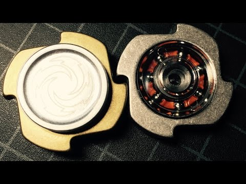 Yardwerx Dab fidget spinner review: Brass and Raw edition hand spinners
