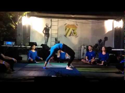 Energies Balanced Yoga Exhibition 12-12-14