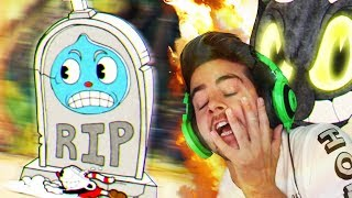 CUPHEAD IS THE TYPE OF GAME THAT WILL DESTROY YOU & THEN TAKE YOUR GIRL...  😡😡😡 (Funny Moments 1)