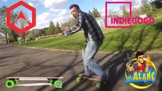 Blink S Electric Skateboard Riding With Marlin Craker