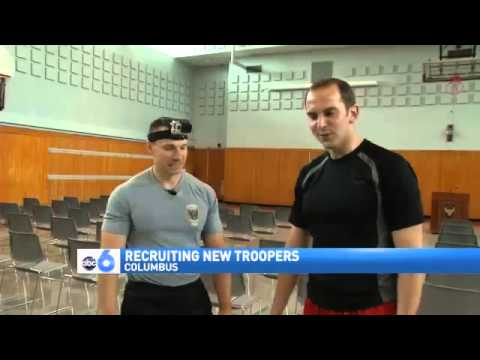 Highway Patrol Puts Potential Recruits to the Test