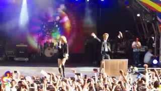 [HD FANCAM] F(x) Amber - Shake That Brass (ft. Luna) @London Korean Festival 090815