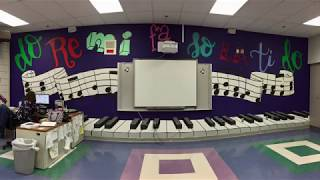 Art Club Paints a Choir Mural